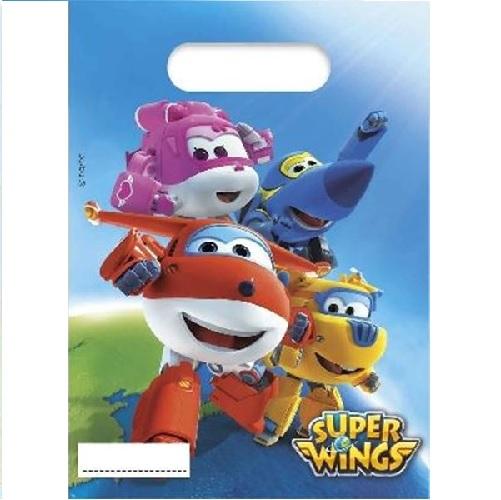 Sacos Super Wings