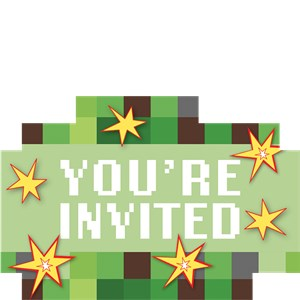 Convites Minecraft