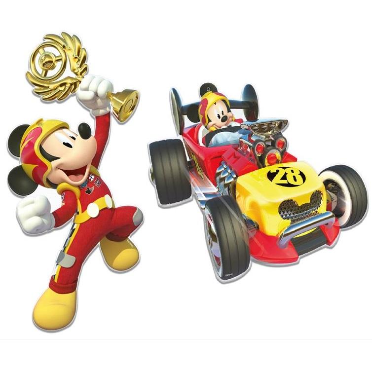 Conj. 2 Figuras Mickey Super Pilotos