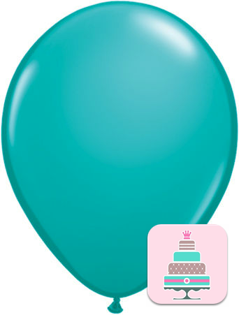 Balão Azul Turquesa