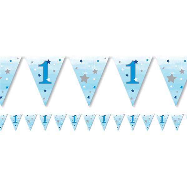 Bandeirolas 1º Aniversário Estrela Azul
