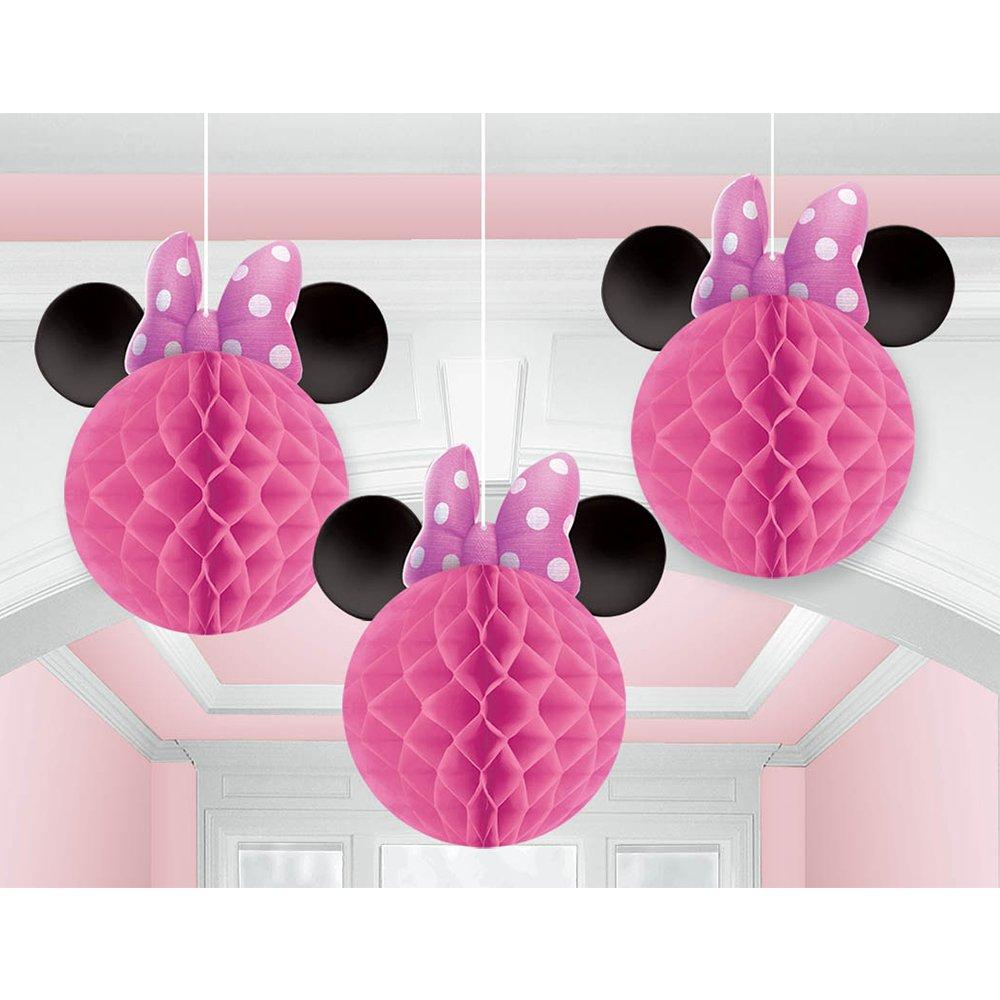 Bolas Decoração Minnie Rosa