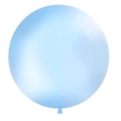 Balão Azul Claro 90cm Gigante