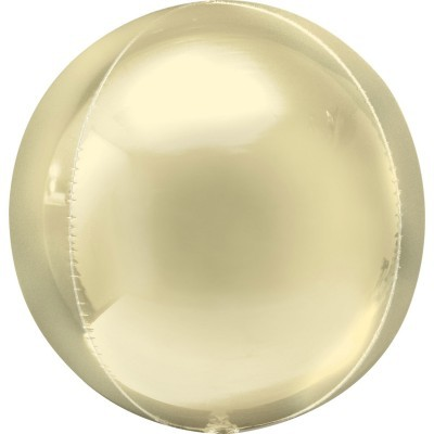 Balão Orbz Amarelo Pastel