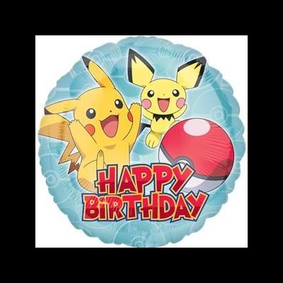 Pokémon Balão Médio HB