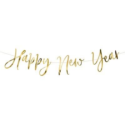 Grinalda Happy New Year Dourado