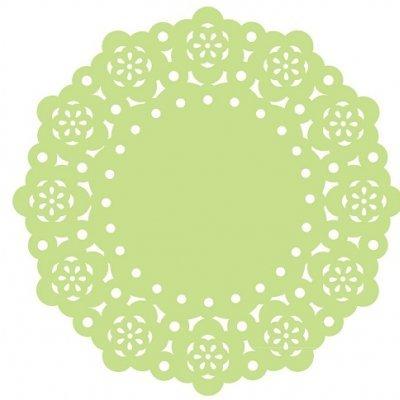 Mini Naperons Verde Claro