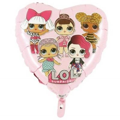 LOL Surprise Balão Rosa