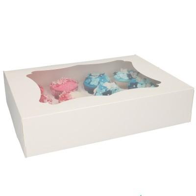 Caixa Cartolina 12 Cupcakes