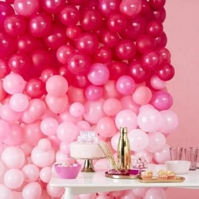 Parede de Balões Rosa