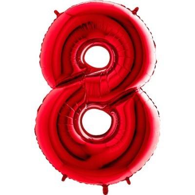 Balão Gigante 8 Vermelho