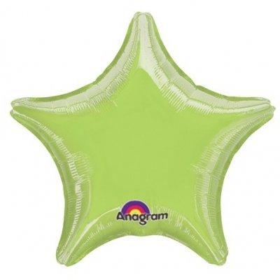 Balão Estrela Verde Claro