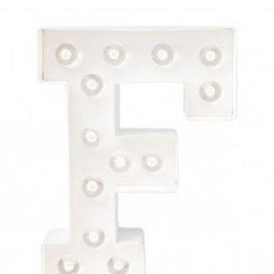Letra Luminosa F