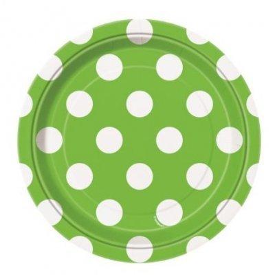 Pratos Verde Bolas Pequenos