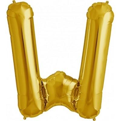 Balão W Dourado