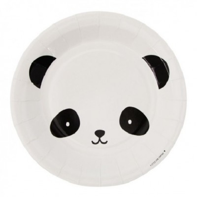 Pratos Panda Grandes
