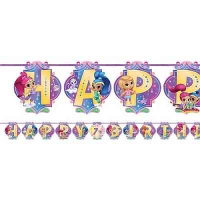 Grinalda Happy Birthday Gigante Shimmer & Shine