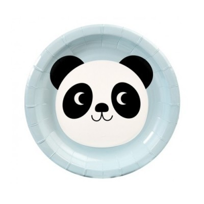 Pratos Panda Pequenos