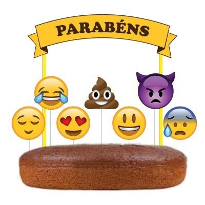 Topo Bolo Emojis