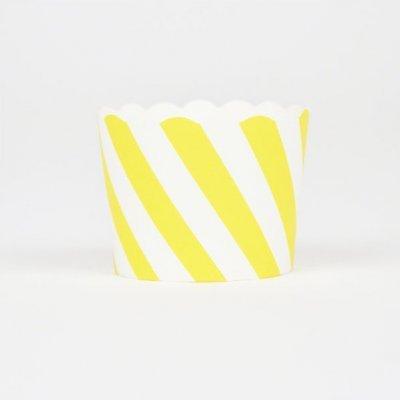Conj. 25 Formas Amarelo Diagonal