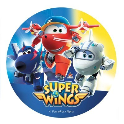 Folha Hóstia Super Wings