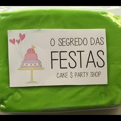 21 - Pasta de Açúcar Verde Alface
