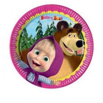 Pratos Masha e o Urso Pequenos