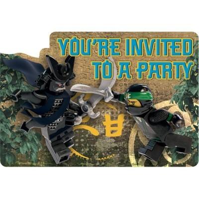 Convites Lego Ninjago