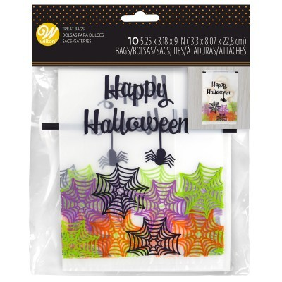 Conj. 10 Sacos Happy Halloween