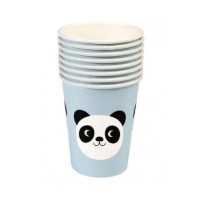 Copos Panda Azul