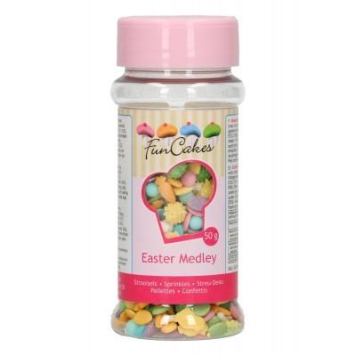 Confetis Açúcar Mistura Páscoa