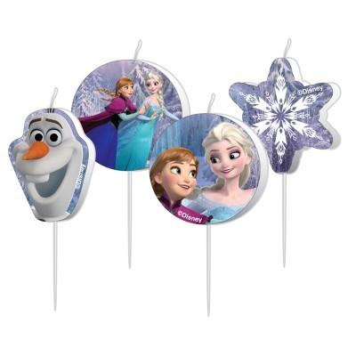 Conj. 4 Velas Frozen