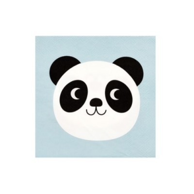 Guardanapos Panda Pequenos