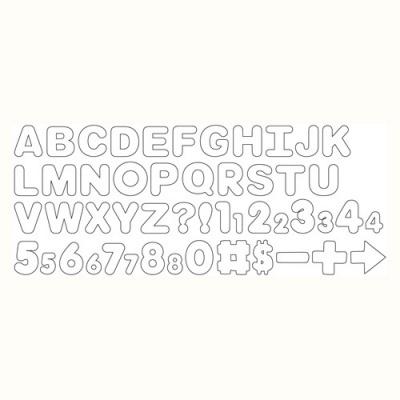 Balde 50 Cortadores Letras e Números