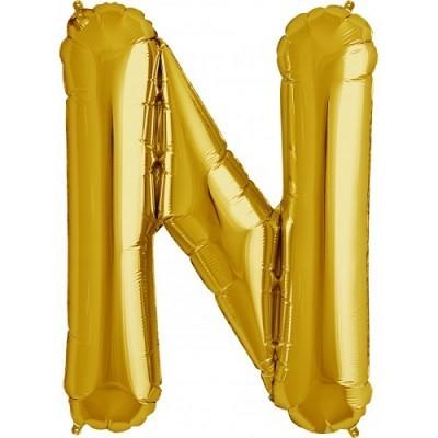 Balão N Dourado