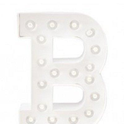 Letra Luminosa B
