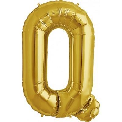 Balão Q Dourado