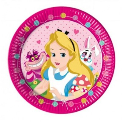 Pratos Alice no País das Maravilhas