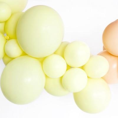 Balão Amarelo Pastel 12cm