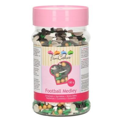 Confetis Açúcar Mistura Futebol