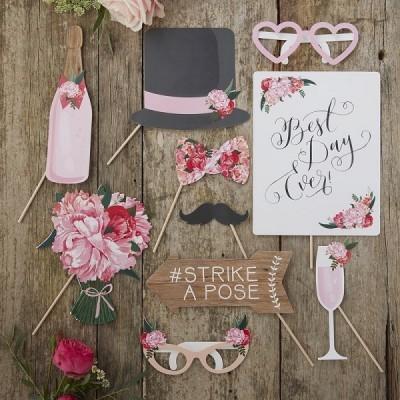 Adereços Fotografias Casamento Romântico