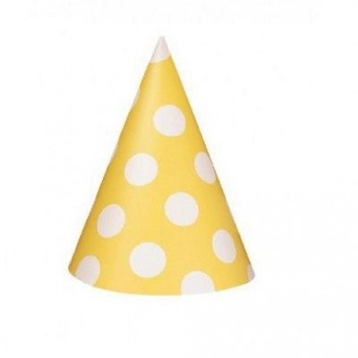 Chapéus Amarelos Bolas
