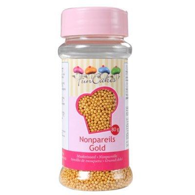 Mini Pérolas Douradas
