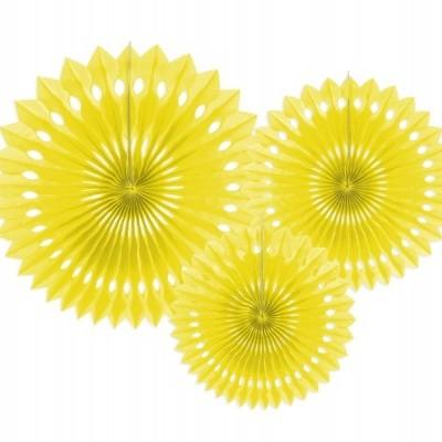 Rosetas Amarelo Conj. 3