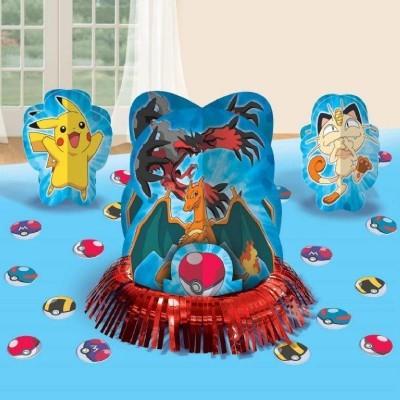 Kit Decoração de Mesa Pokémon