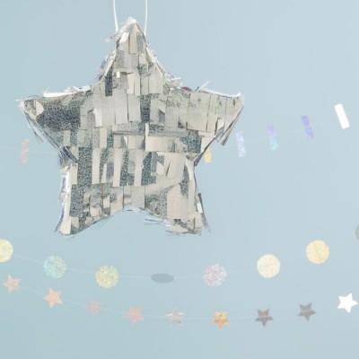 Pinhata Estrela Iridiscente Pequena