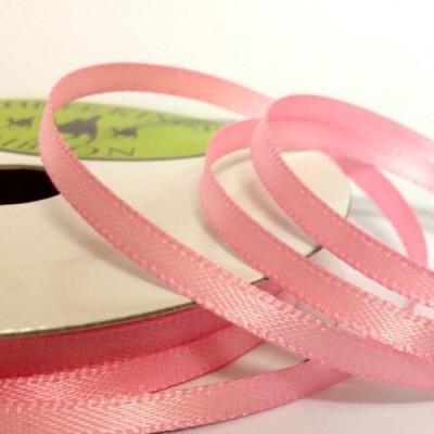Fita Rosa Claro Cetim 3mm