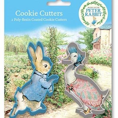 Conj. 2 Cortadores Peter Rabbit