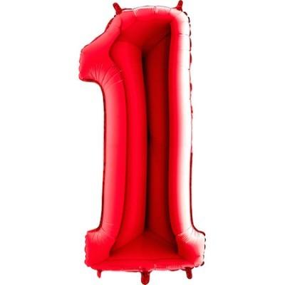 Balão Gigante 1 Vermelho
