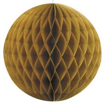 Bola de Papel Dourada